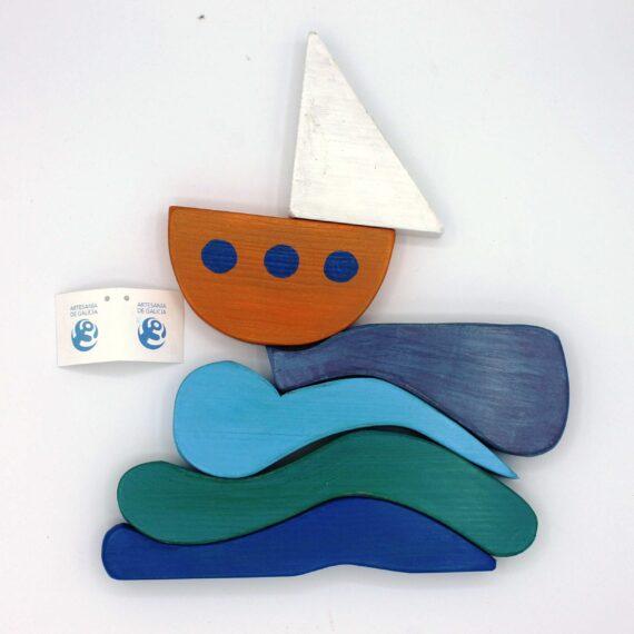 Apilable barco