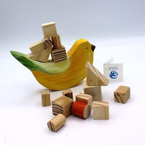 Juego de equilibrio pájaro