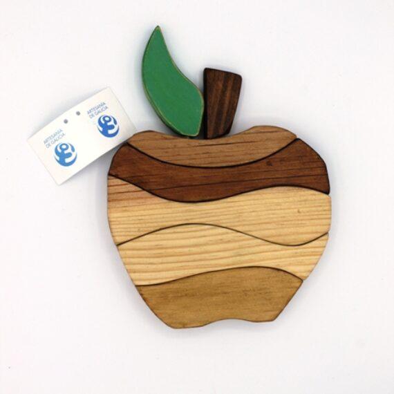 Puzle manzana apilable